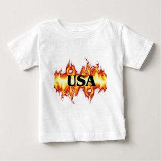 E.E.U.U.-Fuego Remeras