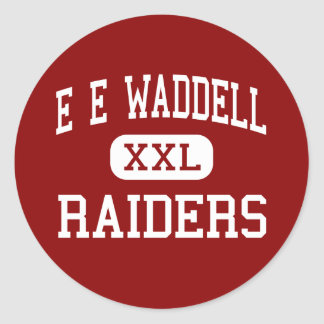 E E Waddell - Raiders - High - Charlotte Classic Round Sticker