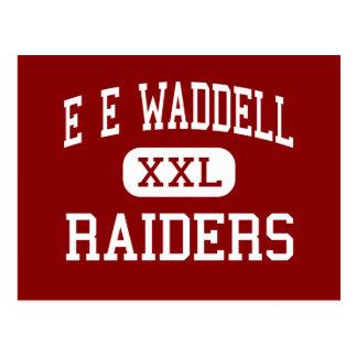 E E Waddell - Raiders - High - Charlotte Postcard