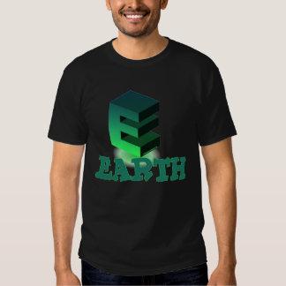 E EARTH WHITE T-SHIRT