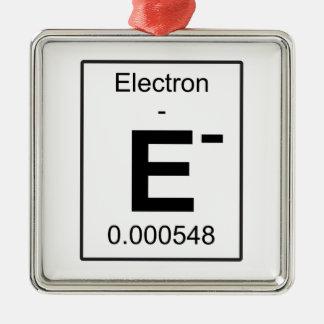 E - Electron Metal Ornament