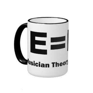 E equals F flat Mug