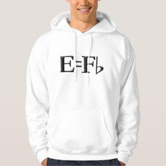 E equals f flat stupid hoodie