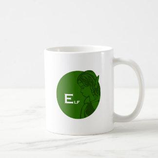 E está para el duende taza de café
