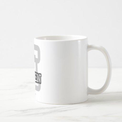 E está para Ellen Tazas De Café