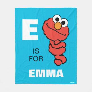 E está para Elmo que los | añaden su nombre Manta Polar