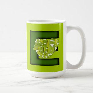 ¡E está para la boa esmeralda del árbol! taza