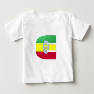 E (Ethiopia) Monogram Flag Baby T-Shirt
