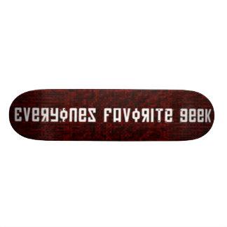 E.F.G. SKATE BOARD DECK