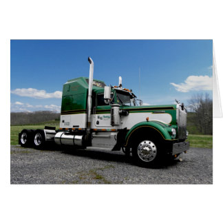 E&F Kenworth W900A Note Card