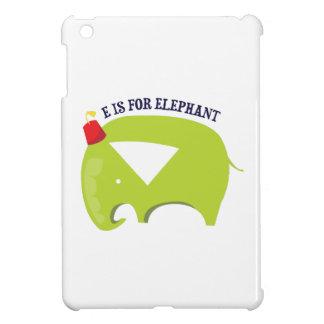 E For Elephant iPad Mini Case