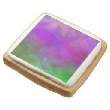 Halloween Themed E.G.A.D.S. - I See Ghosts Square Shortbread Cookie