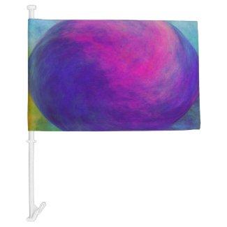 E.G.A.D.S. - I See Moon Dust Car Flag