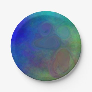 Halloween Themed E.G.A.D.S. - I See Mousse Paper Plate