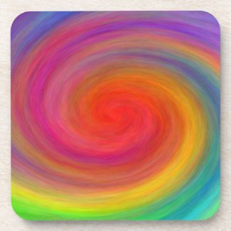E.G.A.D.S. - I See Rainbows Beverage Coaster