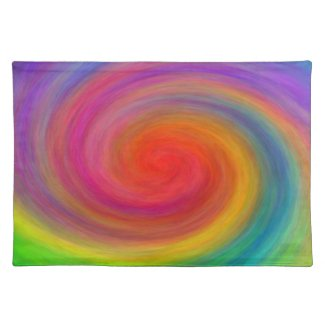 E.G.A.D.S. - I See Rainbows Cloth Placemat