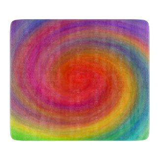 E.G.A.D.S. - I See Rainbows Cutting Board
