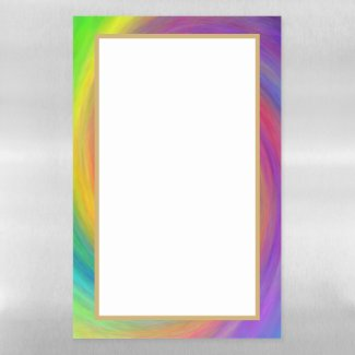 E.G.A.D.S. - I See Rainbows Magnetic Dry Erase Sheet