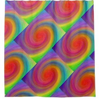 E.G.A.D.S. - I See Rainbows Shower Curtain