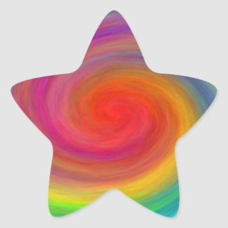 E.G.A.D.S. - I See Rainbows Star Sticker