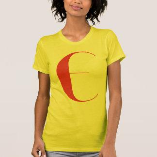 E grande: Jeanne Moderno Lettres Camiseta