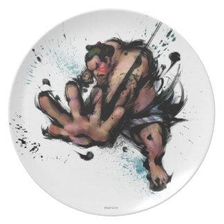 E. Honda Push Dinner Plate