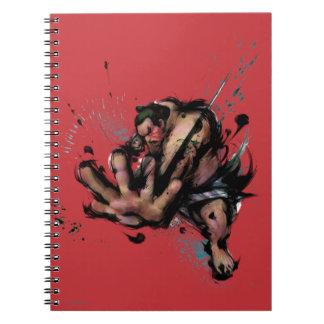 E. Honda Push Spiral Notebook