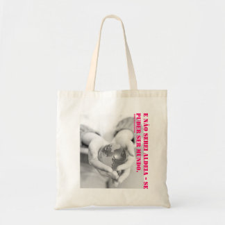 E I will not be village - it could be world. (PCF) Tote Bag