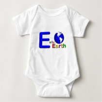 E is for Earth Infant Creeper