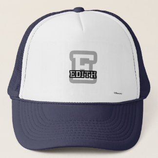 E is for Edith Trucker Hat