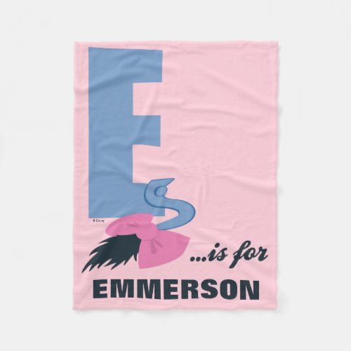 E is for Eeyore | Add Your Name 2 Fleece Blanket