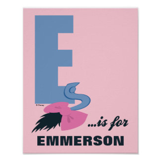 E is for Eeyore | Add Your Name 2 Poster