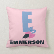 E is for Eeyore | Add Your Name Throw Pillow