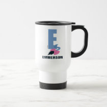 E is for Eeyore | Add Your Name Travel Mug