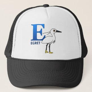 E is for Egret Trucker Hat
