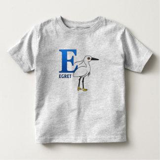 E is for Egret Toddler T-shirt
