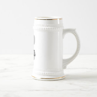 E is for Elena 18 Oz Beer Stein