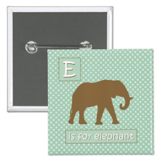 """""""E"""" is for Elephant Buttons"""
