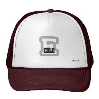 E is for Eli Trucker Hat