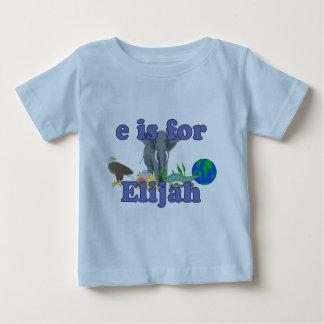 E is for Elijah T-shirt