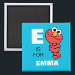 """E is for Elmo 