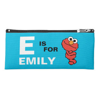 E is for Elmo | Add Your Name Pencil Case