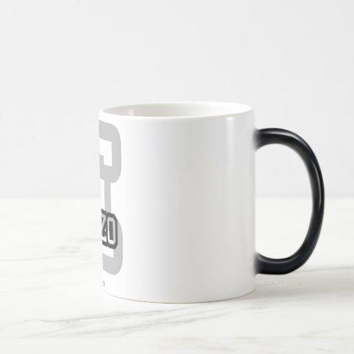 E is for Enzo 11 Oz Magic Heat Color-Changing Coffee Mug