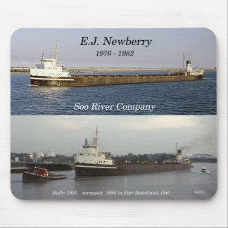 E.J. Newberry mousepad