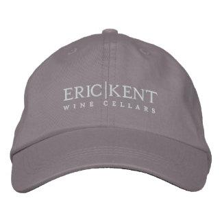 E K Grey Baseball Hat Embroidered Baseball Cap