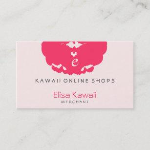 Japanese kawaii business cards zazzle e kawaii blot shops business card colourmoves