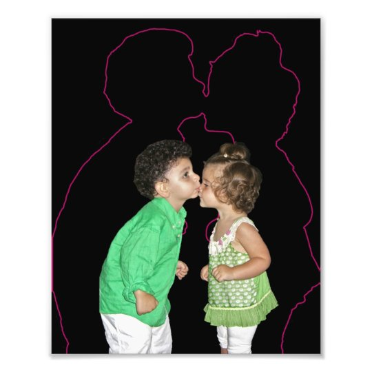 e-kissing photo print