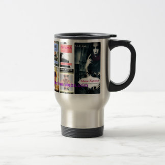 E L R Jones travel mug