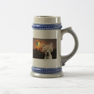 E-Lizz Acka at Dusk Beer Stein