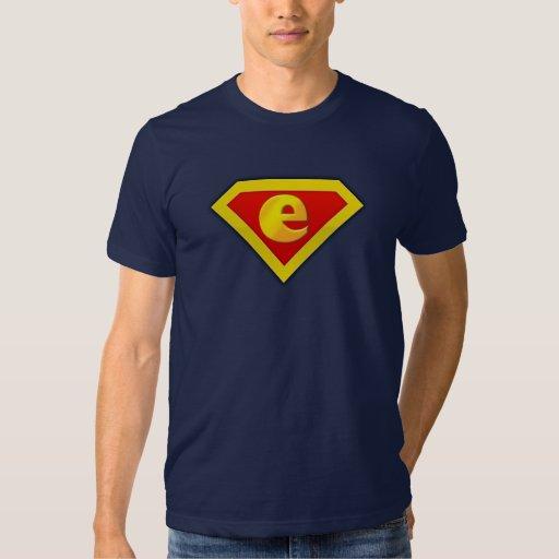 "e-lottery ""e"" tshirts"